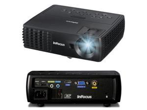 InFocus - IN1112A - InFocus IN1112A 3D Ready DLP Projector - 720p - HDTV - 16:10 - 165 W - NTSC, PAL, SECAM - 3000 Hour