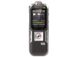 Philips - PSPDVT600000 - Voice Tracer 6000 Digital Recorder, 4 GB Memory, Silver Shadow/Anthracite