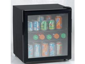 Avanti 1.9 cu. ft. Beverage Cooler Black w/Glass Door BCA196BG