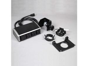 C2G (Cables To Go) - 16229 - C2G Wiremold Desktop Power Center Work Surface Portal - Tabletop