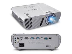 Viewsonic - PJD6552LW - Viewsonic LightStream PJD6552LW 3D Ready DLP Projector - 720p - HDTV - 16:10 - Front - 210 W -