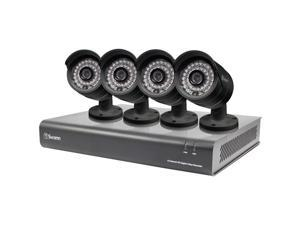 Swann - SWDVK-844004-US - Swann DVR8-4400 - 8 Channel 720p Digital Video Recorder & 4 x PRO-A850 Cameras - Digital Video