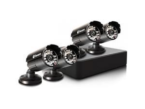 Swann - SWDVK-4ALP14-US - Swann Compact Security System - 4 Channel Digital Video Recorder & 4 Cameras - Digital Video