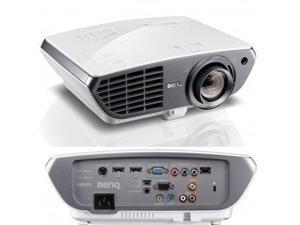 BenQ HT4050 Projector with Rec. 709, Full HD 1080p, 1920x1080, 2000 ANSI Lumens, Dual HDMI(MHL), Vert/Horiz Keystone, 10W Speaker, 1.6 zoom, 6x RGBRGB Colorwheel, Cinema Grade Lens, 3D ready, DLP
