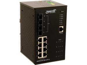 Transition Networks Managed Hardened Gigabit Ethernet Switch