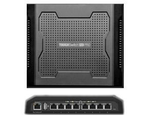 Ubiquiti TS-8-PRO-US 8-Port TOUGHSwitch PoE PRO Gigabit Switch 150W Power 8 devices