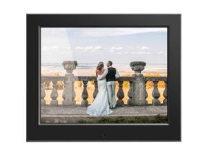 Aluratek - ASDPF08F - Aluratek 8 Slim Digital Photo Frame with Auto Slideshow Feature - 8 LCD Digital Frame - Black -
