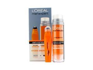 Men Expert Set: Hydra Energetic Turbo Booster + Ice Cool Eye Roll-On - 2pcs