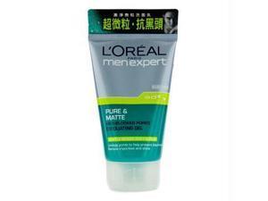 Men Expert Pure & Matte Anti-Blocked Pores Exfolicating Gel - 100ml / 3.4oz