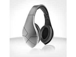 Velodyne vBold Over-Ear Wireless Bluetooth Headphones (Satin Silver)