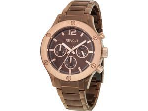 Revolt Soho RT40097-H Women's Watch with Brown Stainless Steel Band