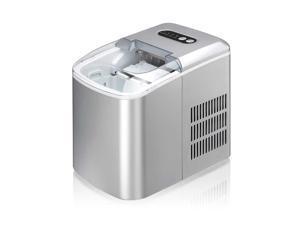 Sunpentown Portable Ice Maker - Silver IM-124S