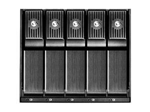 Silverstone FS305B 3x5.25 In. device bay to 5x3.5 In. SAS/SATA 6.0 Gbits trayless hot-swap Cage