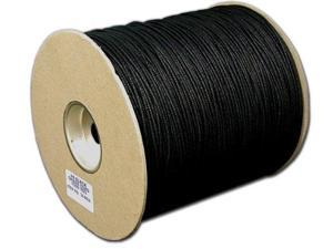 T.W. Evans Cordage Co. No. 4 1/8 In. Black Cotton Shade Cord 200 Yard Unglazed 34-4404U-6