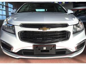 Fits 2015-2016 Chevy Cruze Lower Bumper Stainless Steel Black Mesh Grille #C76343H