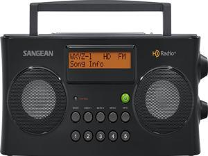 Sangean HD Portable Radio Black HDR-16