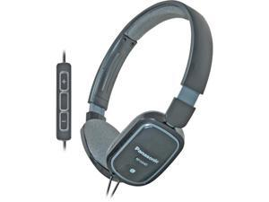 Black Slimz Over-Ear Headphones with Remote and Microphone for iPod/iPhone