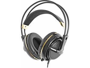 Siberia V2 Full Size Gold and Black Plated Headset