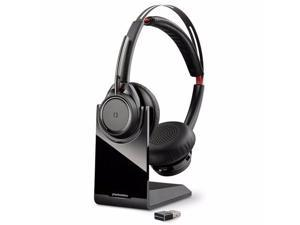 Plantronics(R) Voyager Focus UC On-Ear Headphones, Black