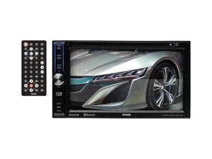 "6.2"" Double-DIN In-Dash Touchscreen DVD Receiver with Bluetooth(R) - DD664B"