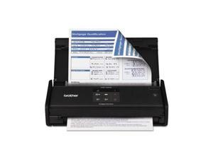 Brother BRTADS1000W Compact Desk Scanner, 16PPM, 20Sht Cap, Black