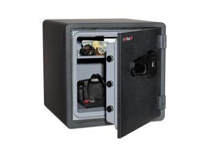 Fireking One Hour Fire Safe and Water Resistant with Biometric Fingerprint Lock - FIRKY13131GRFL