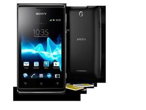 Sony Xperia E (C1604) Black DUAL SIM - OEM