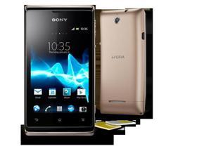 "Sony Xperia E (C1604) Champagne Dual SIM - Android 4.1 (Jelly Bean), 3.5"" Multi-touch display, 4 GB internal memory, 3.15 ... - OEM"