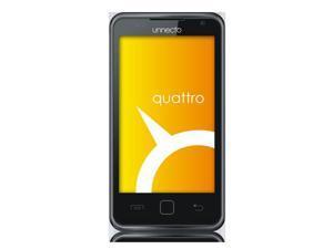 Unnecto Quattro Dual SIM Unlocked GSM Cellphone US Version, Black - OEM