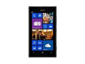 Nokia 925 Black 3G LTE Windows Phone 8 Dual-Core 1.5GHz 16GB 8.0MP Camera Unlocked GSM Cell Phone - OEM