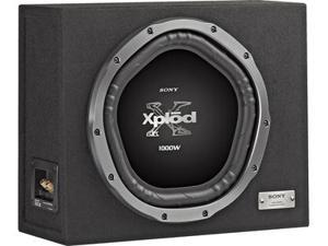 """Sony Xplod XS-GTX121LS Sealed Enclosure with 12"""" Subwoofer"""