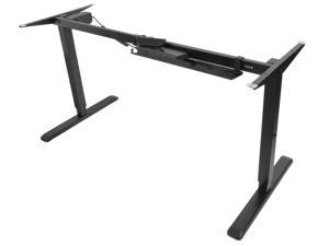 VIVO Electric Stand Up Desk Frame Single Motor Standing Height Adjustable