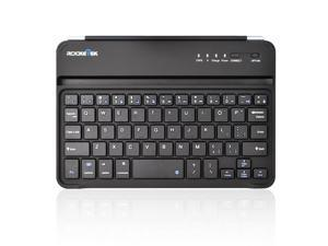 Rocketek ipad min Bluetooth Keyboard, with Built-in lithium battery aluminum cover matching the ipad mini perfectly