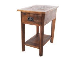 Alaterre Revive Reclaimed Chairside Table In Natural