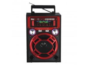 QFX Karoke Multimedia Speaker With AM/FM/SW1-2 Band Radio