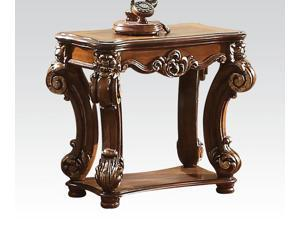 1PerfectChoice Vendome Traditional Cherry End Table