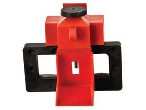 Brady Red Polypropylene And Glass Filled Impact-Modified Oversized Breaker Lockout