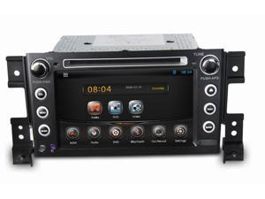 Pure Android system 7 Inch in dash 2din head unit  Car Dvd Gps Navigation for Suzuki Grand vitara