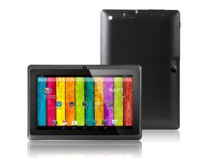 "Q88 Pro Android 4.2 7"" Capacitive Touch Screen G-Sensor Tablet PC 512MB Memory 4GB HDD Allwinner A23 1.5GHz Wifi Webcam (Black)"