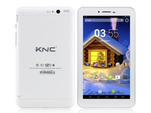 KNC MD703A 7 inch 3G Phone Call Tablet PC MTK8312 Dual Core 1.2GHz 1GB Memory 8GB HDD android 4.2 Support Bluetooth GPS 3G ...