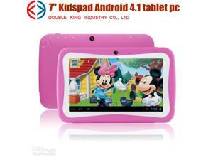 7 inch children Educational tablet pc Dual Core Android 4.2 Tablet kids as gift toy RK3026 Capacitive Screen 512M Memory ...
