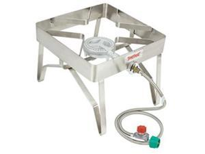 "Bayou Classic Stainless Patio Stove - 16""X16"" - 10 Psi"