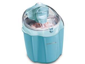 Hamilton Beach  68322  1.5 Quart Ice Cream Mixer, Blue