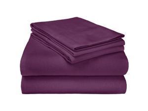 Twin Flannel Sheet  #38; Pillowcase Set  #124; 100 #37; Cotton  #124; Deep Pockets  #124; Soft, Luxu
