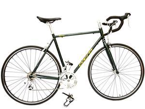 ALTON USA Thunder Road/Racing Bike Shimano Smart 16 Speed 700C. Dark Green/Yellow 550mm DP-780 Frame