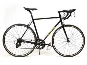 ALTON USA DPR-14  Racing/Commuter 2H7 Speed Shift Lever Road Bike 700C. Dark Blue/Yellow 520mm DP-780 FRAME.