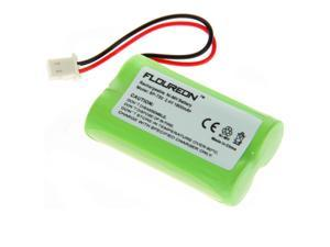 2X  FLOUREON Ni-MH Cordless Phone Batteries  2.4V 1800mAh for Sony: BP-T50, BPT50, BP-T51, BPT51, BP-TR10, BPTR10, HSCOT50, ...