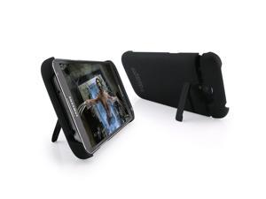3200mAh Black Portable Power Pack Backup Battery Charger & Case with stand for Galaxy Note2 N7100