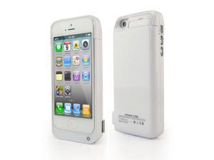 4200mah fashion   white  iphone 5c power case battery