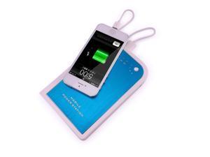 Skyrocket 12000mAh External Battery Pack Backup Portable Charger Universal USB Travel Power Bank For Tablets Apple iPad 4 ...